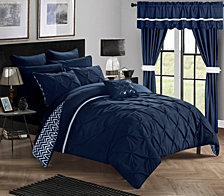 Chic Home Jacksonville 20-Pc Queen Comforter Set