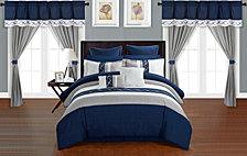 Chic Home Idit 24-Pc Queen Comforter Set