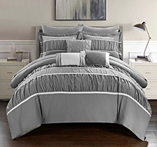 Cheryl 10-Pc King Comforter Set