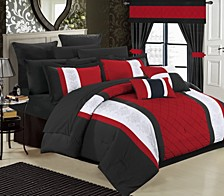 Danielle 24-Pc Queen Comforter Set