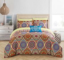 Chic Home Chennai 8-Pc Queen Comforter Set