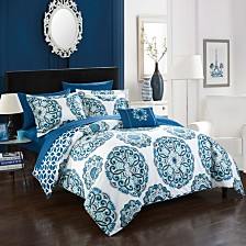 Chic Home Barcelona 8-Pc King Comforter Set