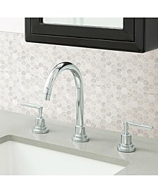 Hexagon Marble Peel And Stick Backsplash Tiles