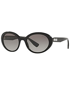Sunglasses, MU 01US 53