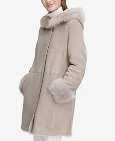 Shearling Zipper Coat