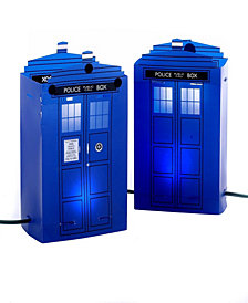 Kurt Adler 5 Light Doctor Who Tardis Luminary Outdoor Décor
