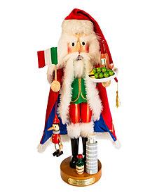 Kurt Adler 18.5 Inch Steinbach Italian Santa Nutcracker
