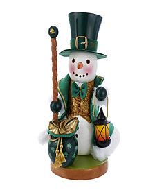 Kurt Adler 12.5 Inch Steinbach Irish Snowman Nutcracker