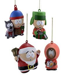 Kurt Adler 2.75-Inch - 3-Inch South Park Ornament Set of 4