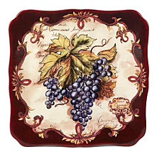 Certified International Vintners Journal Square Platter