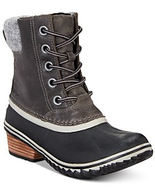 Sorel Women's Slimpack Lace II Waterproof Boots
