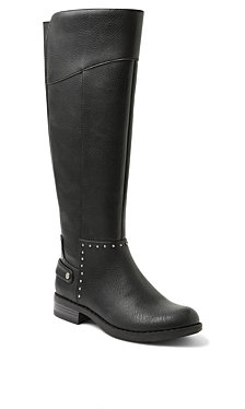 XOXO Seabrook Studded Tall Riding Boots