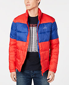 A|X Armani Exchange Men's Colorblocked Puffer Jacket, Created for Macy's