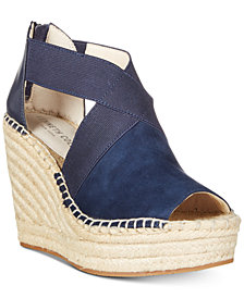 Kenneth Cole New York Women's Olivia Stretch Wedge Sandals