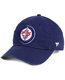 Authentic NHL Headwear Winnipeg Jets Fan Relaxed Adjustable Strapback Cap