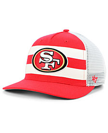 '47 Brand San Francisco 49ers Team Stripe MVP Cap