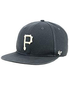'47 Brand Pittsburgh Pirates Garment Washed Navy Snapback Cap
