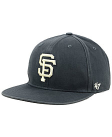 '47 Brand San Francisco Giants Garment Washed Navy Snapback Cap