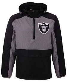 G-III Sports Men's Oakland Raiders Leadoff Lightweight Jacket