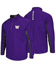 Colosseum Men's Washington Huskies Rival Quarter-Zip Pullover
