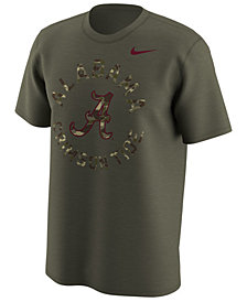 Nike Men's Alabama Crimson Tide Camo Legend Logo T-Shirt