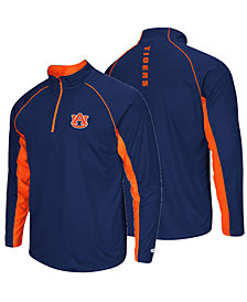 ColosseumMen's Auburn Tigers Rival Quarter-Zip Pullover