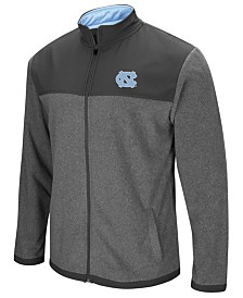 Colosseum Men's North Carolina Tar Heels Full-Zip Fleece Jacket