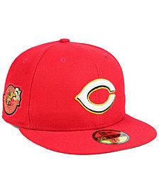 New Era Cincinnati Reds Trophy Patch 59FIFTY FITTED Cap