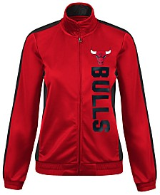 G-III Sports Women's Chicago Bulls Backfield Track Jacket