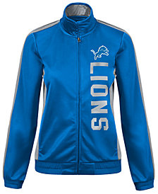 G-III Sports Women's Detroit Lions Backfield Track Jacket