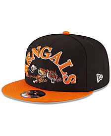 New Era Cincinnati Bengals Retro Logo 9FIFTY Snapback Cap
