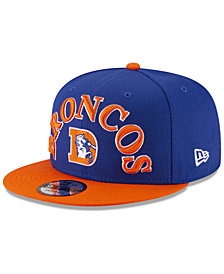 New Era Denver Broncos Retro Logo 9FIFTY Snapback Cap