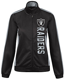 G-III Sports Women's Oakland Raiders Backfield Track Jacket