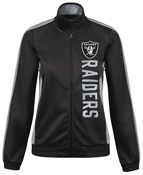 00dad539 G-III Sports Women's Oakland Raiders Backfield Track Jacket ...