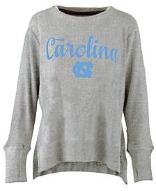 Pressbox Women's North Carolina Tar Heels Cuddle Knit Sweatshirt