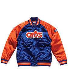Mitchell & Ness Men's Cleveland Cavaliers Tough Season Satin Jacket