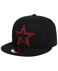 Dallas Cowboys Basic Fashion 59FIFTY FITTED Cap