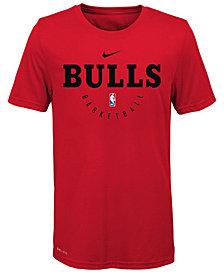 Nike Chicago Bulls Elite Practice T-Shirt, Big Boys (8-20)