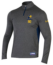 Under Armour Men's Indiana Pacers Combine Authentic Season Quarter-Zip Pullover