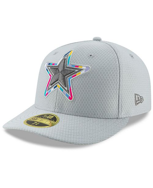 cd720bc80c39d0 ... New Era Dallas Cowboys Crucial Catch Low Profile 59FIFTY Fitted Cap ...