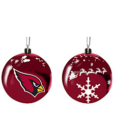 "Memory Company Arizona Cardinals 3"" Sled Glass Ball"