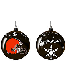"Memory Company Cleveland Browns 3"" Sled Glass Ball"