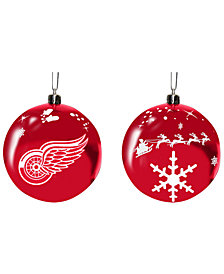 "Memory Company Detroit Red Wings 3"" Sled Glass Ball"