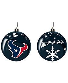 "Memory Company Houston Texans 3"" Sled Glass Ball"