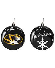 "Memory Company Missouri Tigers 3"" Sled Glass Ball"