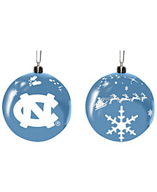 "Memory Company North Carolina Tar Heels 3"" Sled Glass Ball"