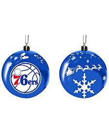 "Memory Company Philadelphia 76ers 3"" Sled Glass Ball"