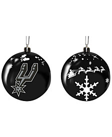 "Memory Company San Antonio Spurs 3"" Sled Glass Ball"