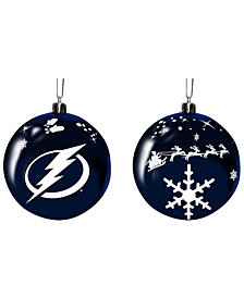 "Memory Company Tampa Bay Lightning 3"" Sled Glass Ball"