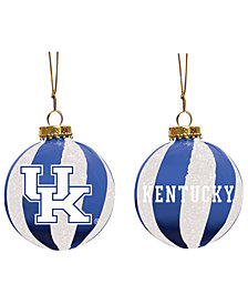 "Memory Company Kentucky Wildcats 3"" Sparkle Glass Ball"